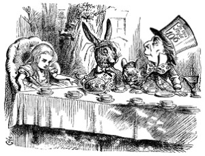 Will Scribe Alice in Wonderland