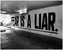 Will Scribe Fear is A Liar