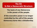 Will Scribe EU Not Democratic