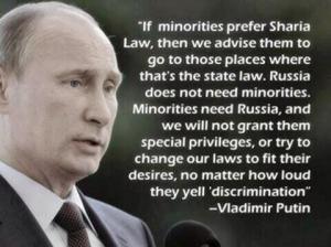 Will Scribe Putin on Islam