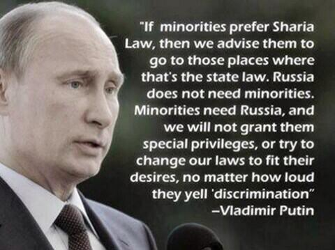 Will Scribe Putin on Islam