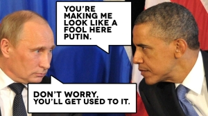 Will Scribe Putin and Obama