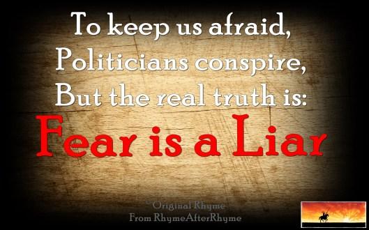 Will Scribe Fear is a Liar 01