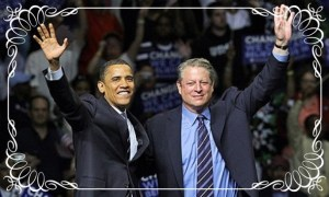Will Scribe Obama and Gore 01 Wedding frame